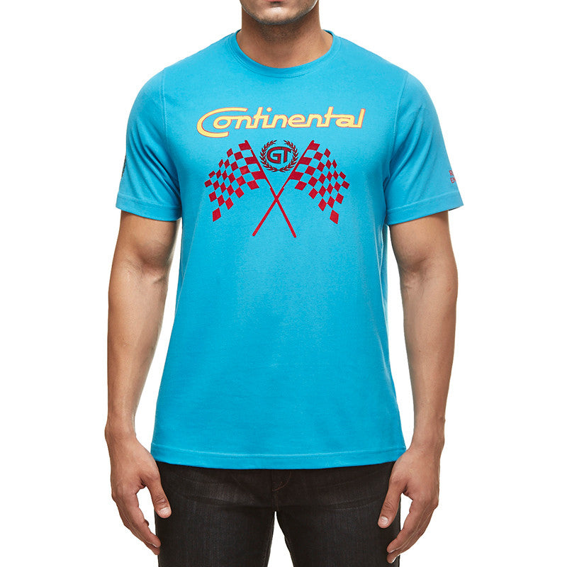 Gt Flag Tee Blue - Royal Enfield