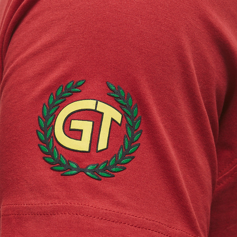 Gt Flag Tee Red - Royal Enfield