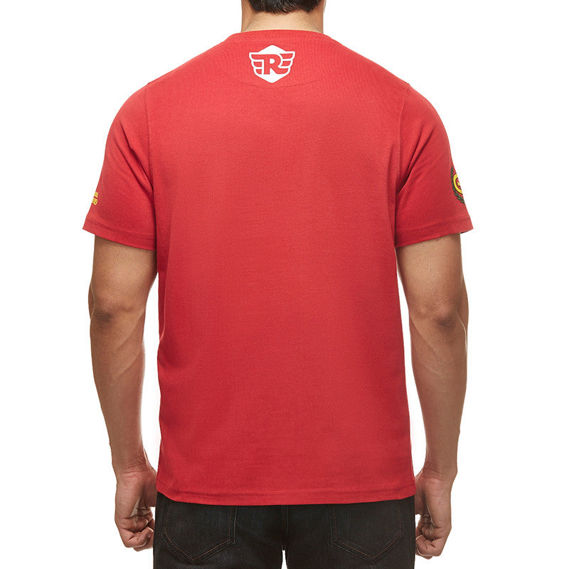 Gt Flag Tee Red