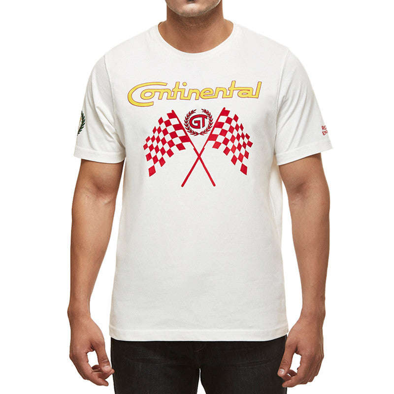 Gt Flag Tee Off White - Royal Enfield