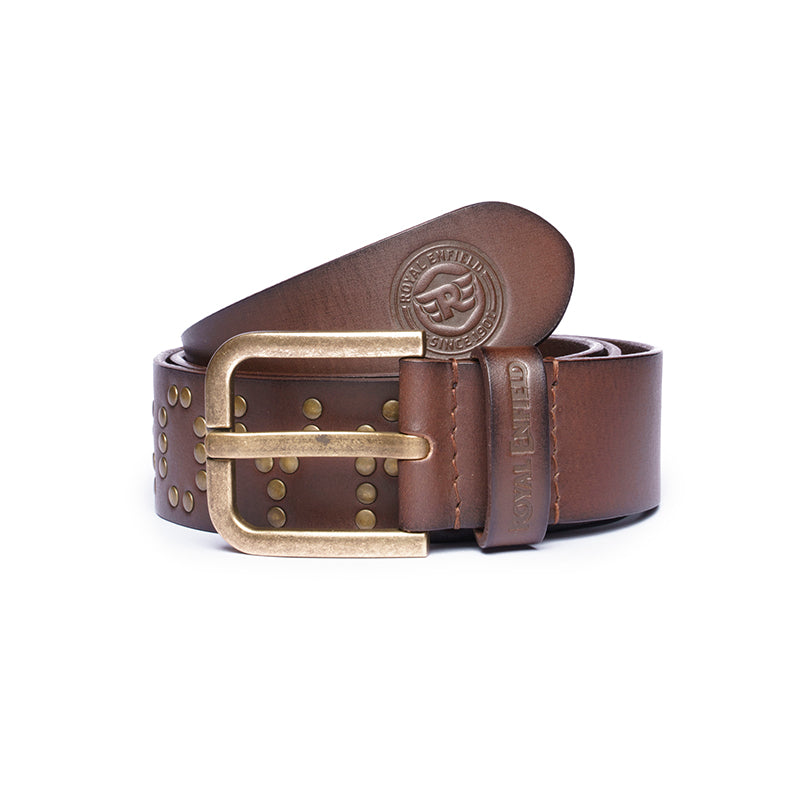 THE STUD BELT-BROWN