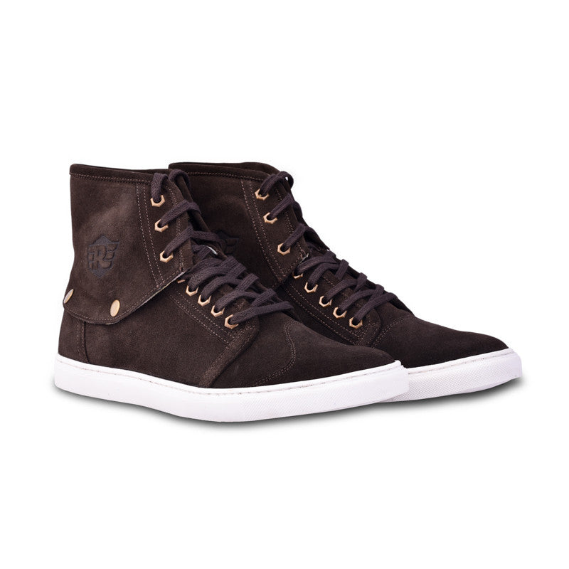 Darwen -detachable suede sneaker - Royal Enfield - 1