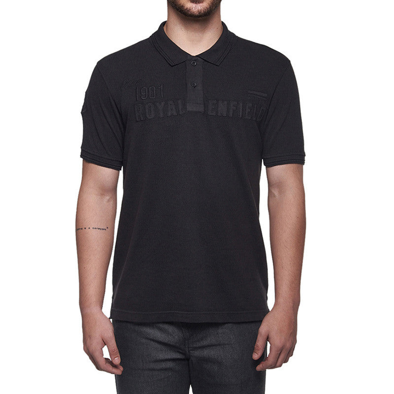 Since 1901 Polo T-Shirt Black