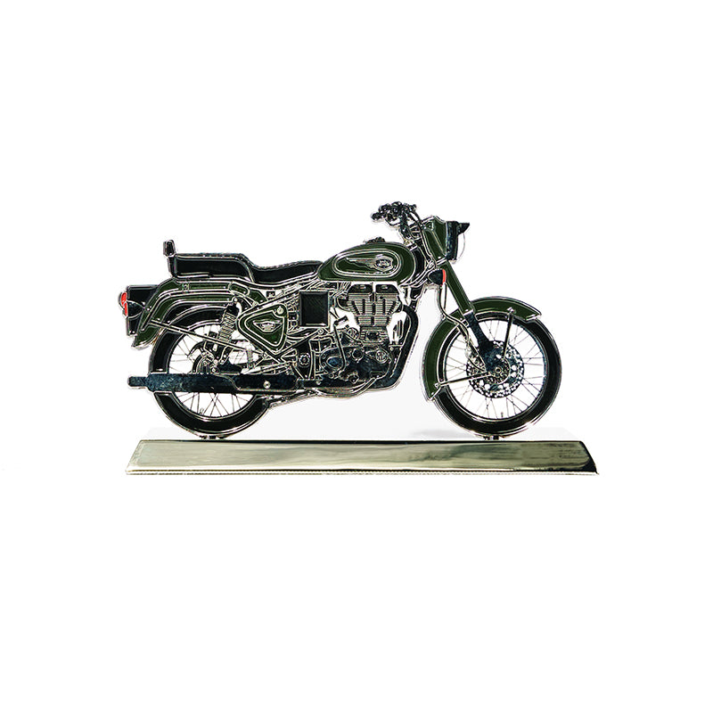 BULLET 500 2D SCALE MODEL-FOREST GREEN