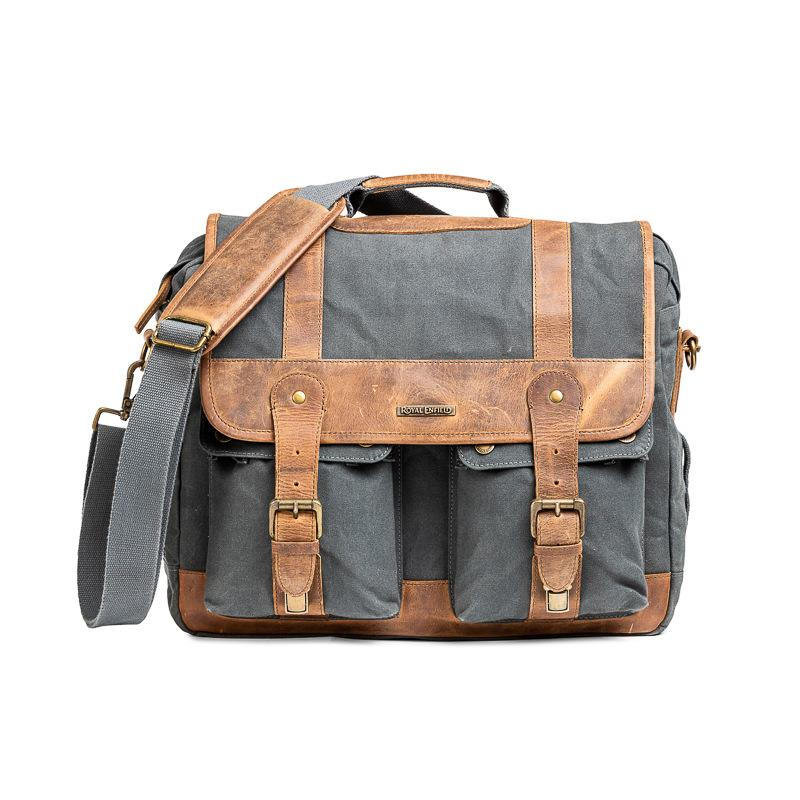 Classic Messenger Bag Grey