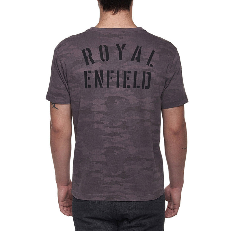 Camo T-Shirt Camo Grey - Royal Enfield