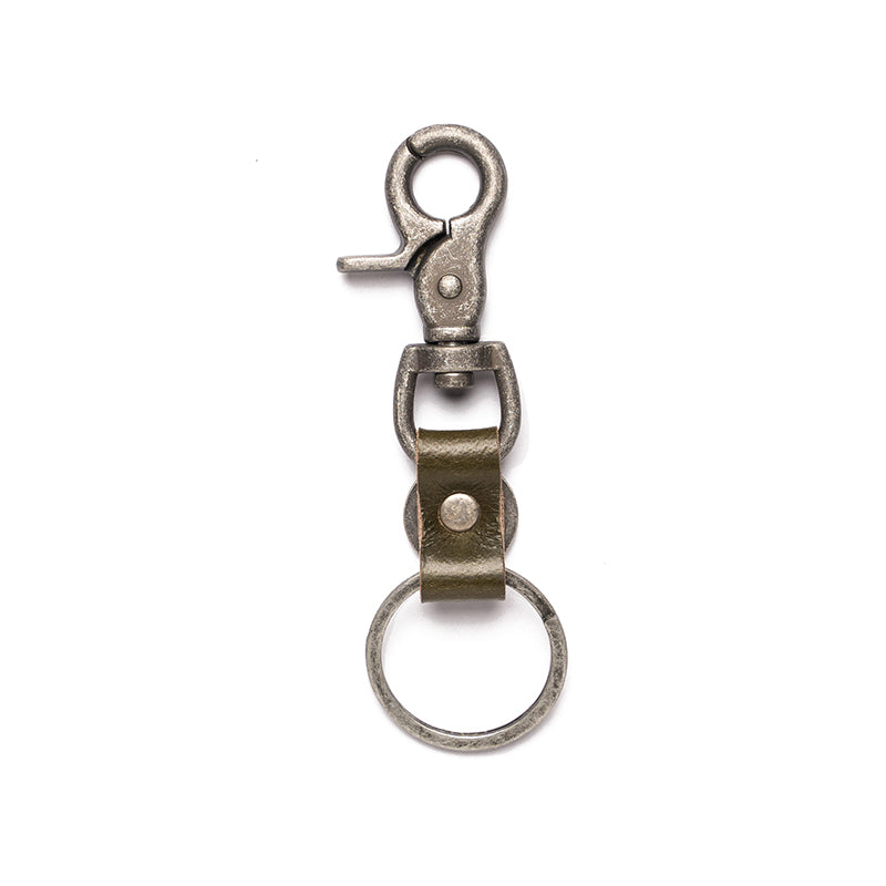 FOCUS KEY CHAIN-OLIVE
