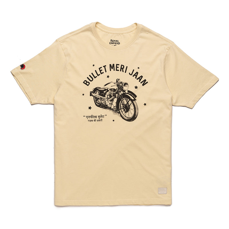 Bullet Meri Jaan T-Shirt-Off White