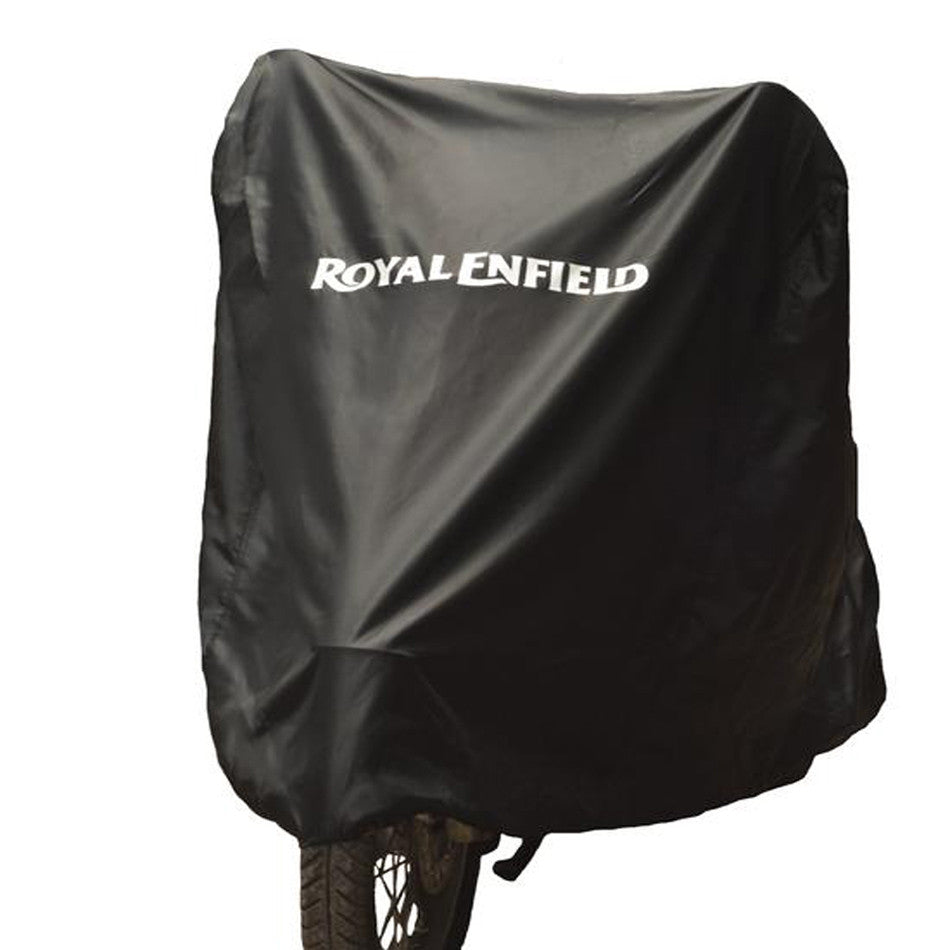 Classic Motorcycle Cover-Black Black - Royal Enfield