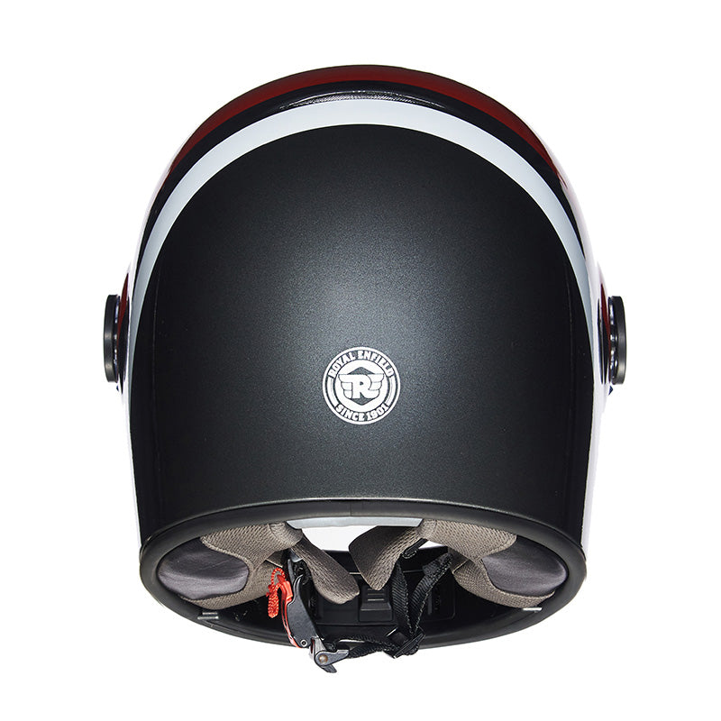 Drifter Helmet True Stripes Grey Red