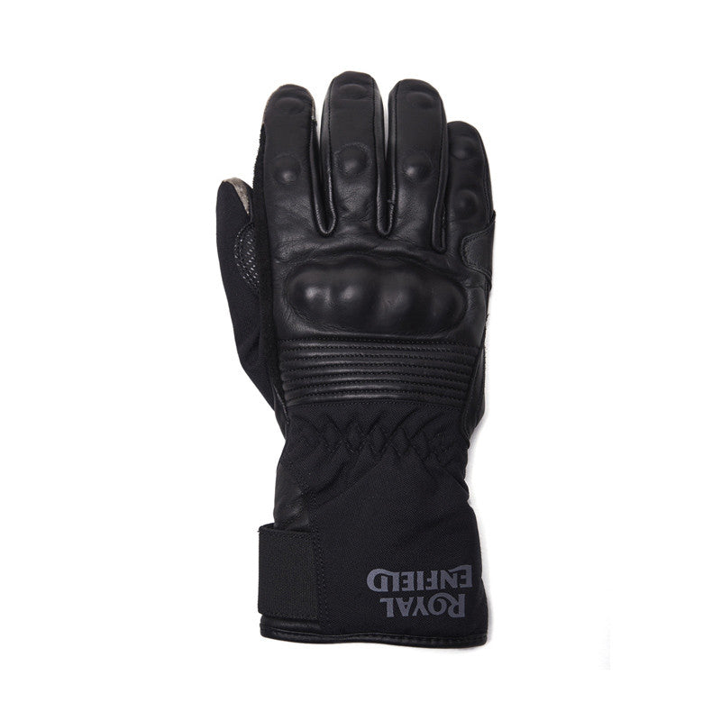 Wr Long Leather Gloves Black