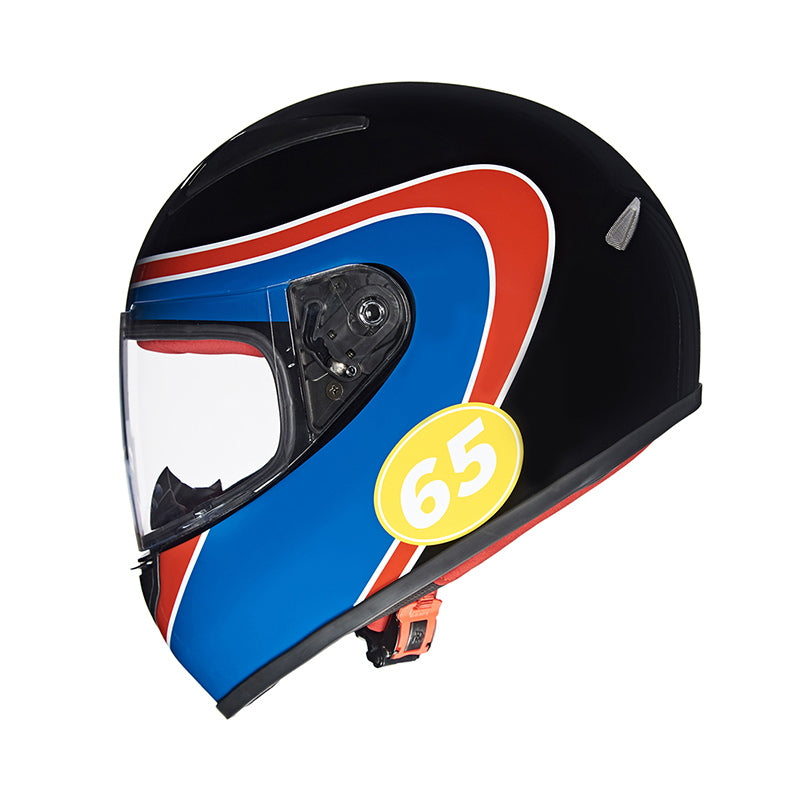 STREET PRIME HELMET HAIRPIN - Black Blue