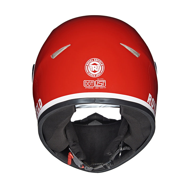 STREET PRIME HELMET - ROADBLOCK Red