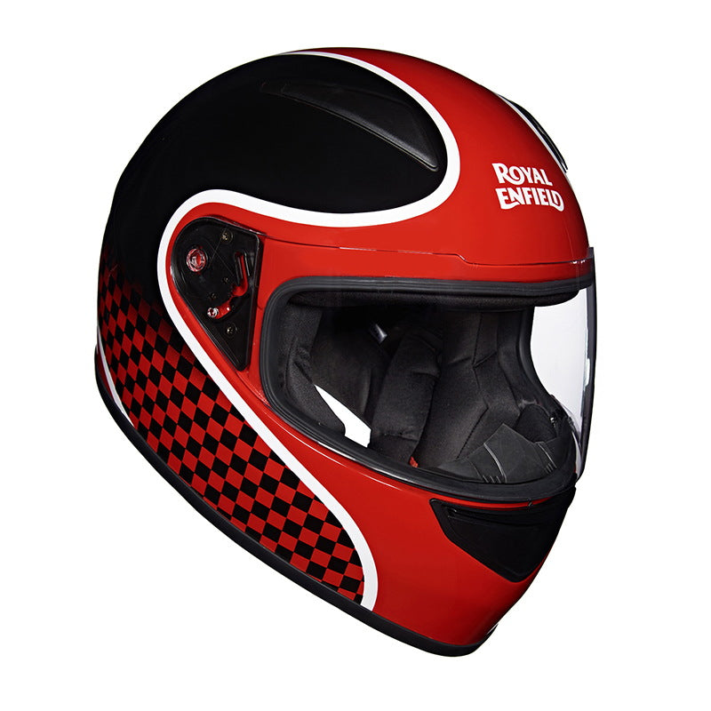 STREET PRIME HELMET – FINISH LINE Black Red