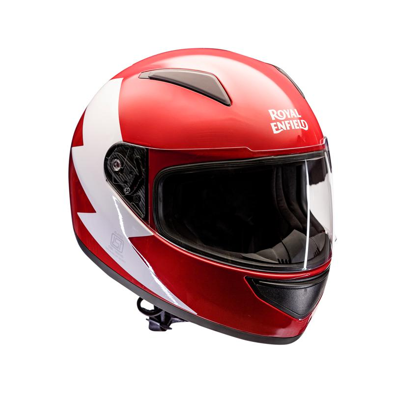 Bolt Full Face Helmet Red