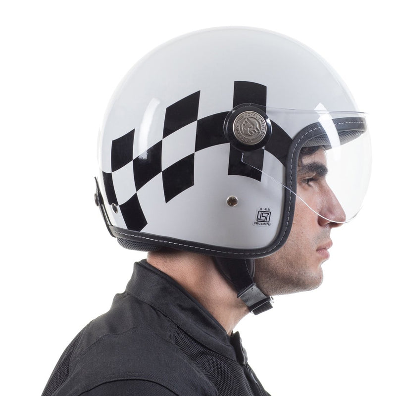 Bolt 50 Helmet White