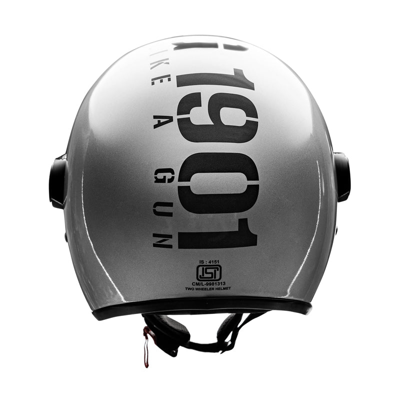 MLG Long Visor - Gloss Silver
