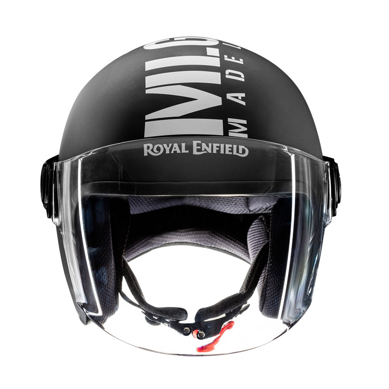 MLG Long Visor - Matt Black White