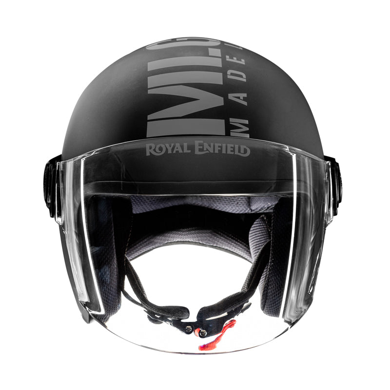 MLG Long Visor - Matt Black Grey
