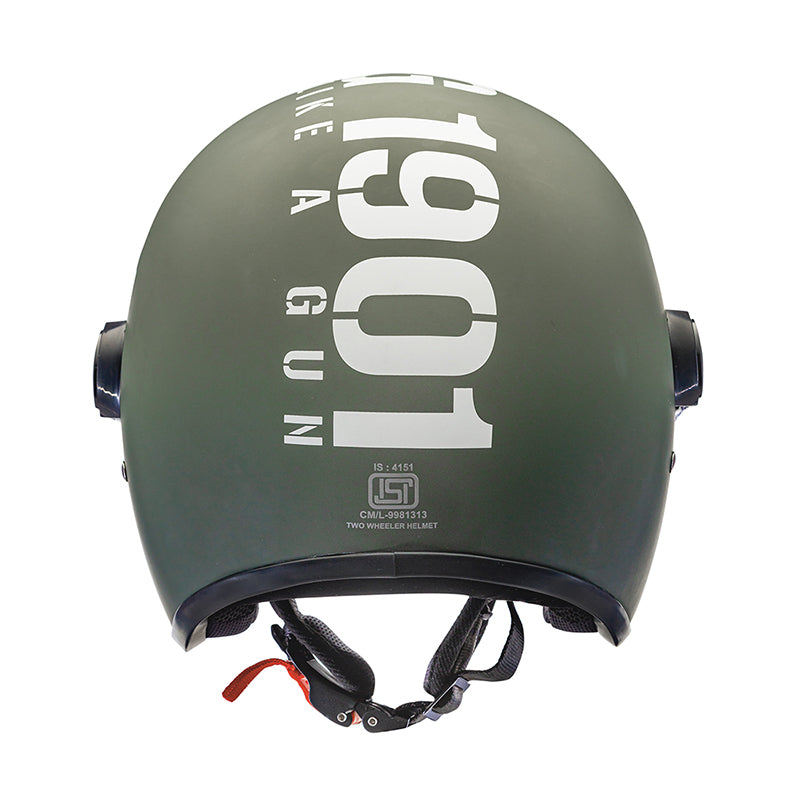 MLG Long Visor - Matt Battle Green