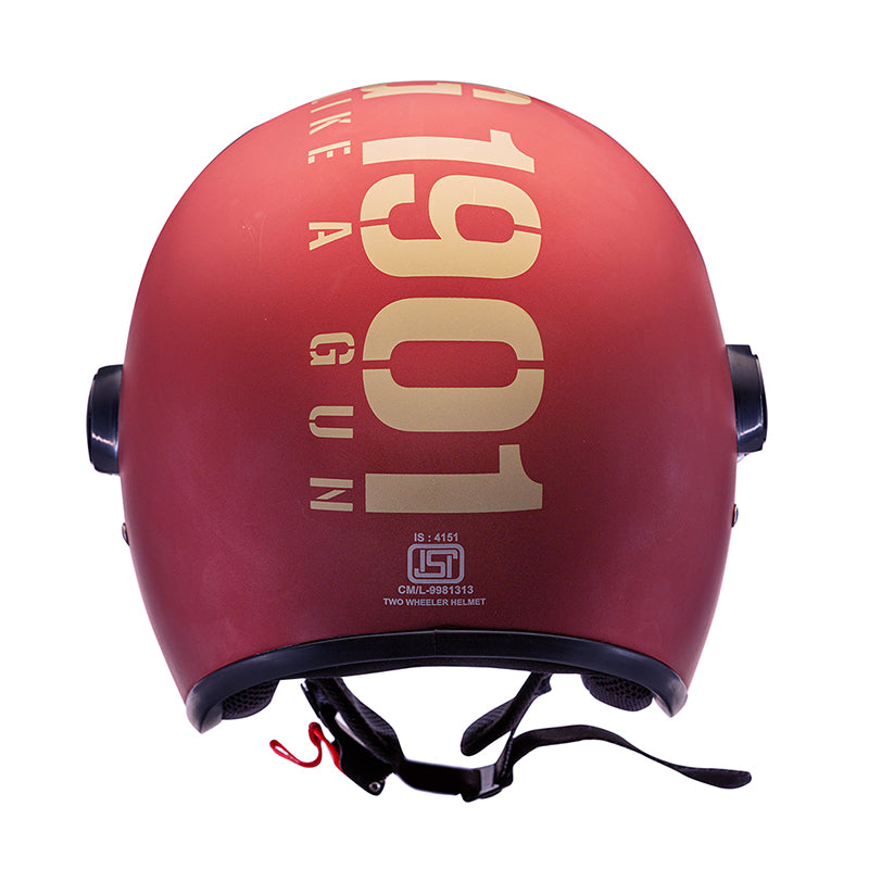 MLG Long Visor - Matt Maroon