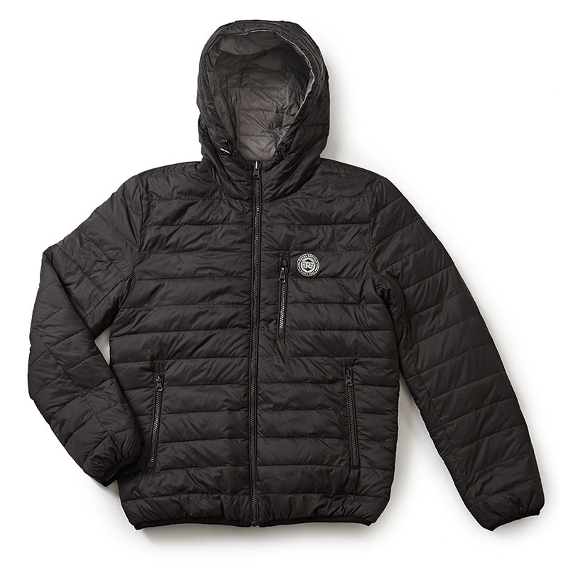U TURN WINTER JACKET BLACK GREY