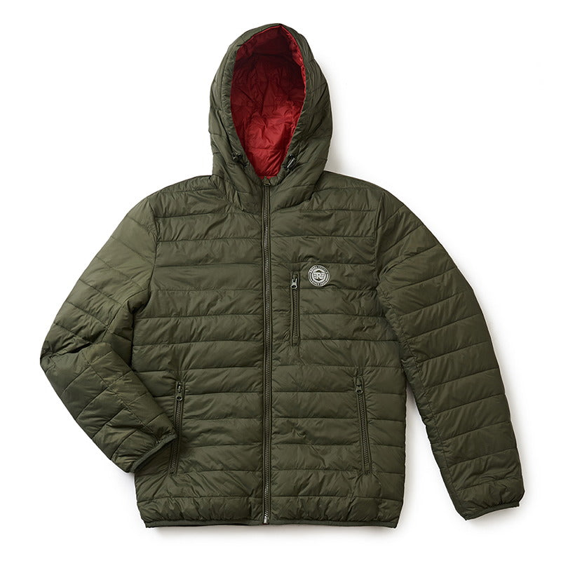 U TURN WINTER JACKET RED GREEN
