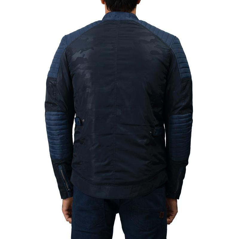 Apex P Jacket Navy Camo