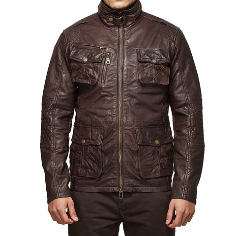 Leather Jacket by Royal Enfield Urban Gear. Image Courtesy: Royal Enfield Website.