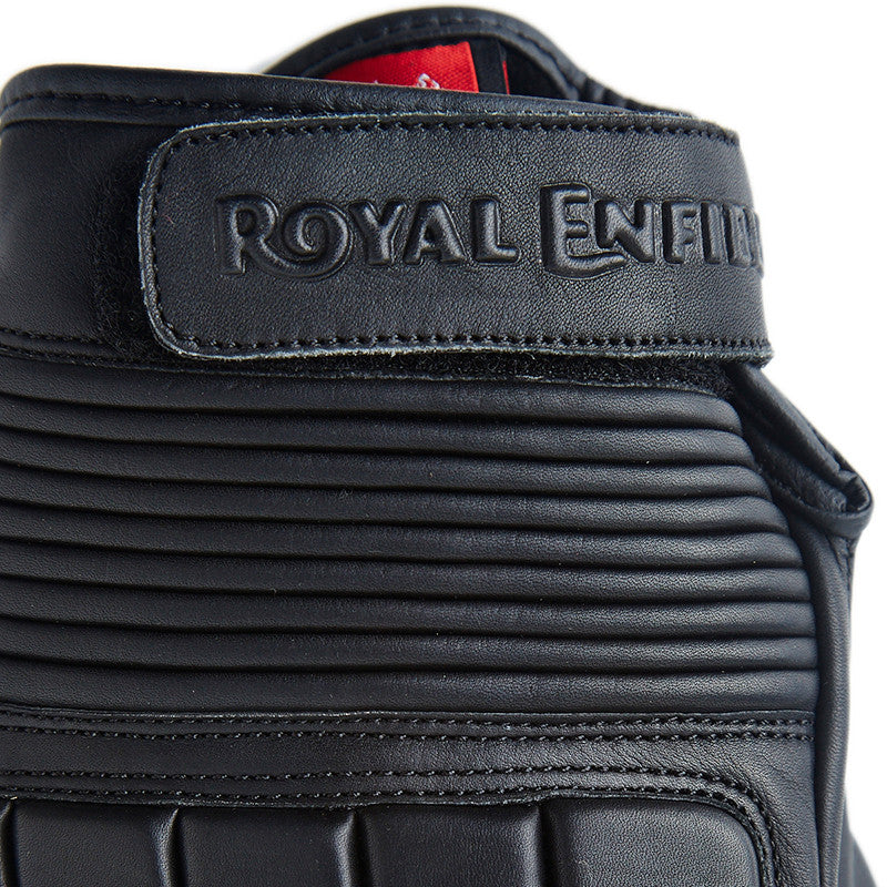 Classic Sport Riding Gloves Black - Royal Enfield
