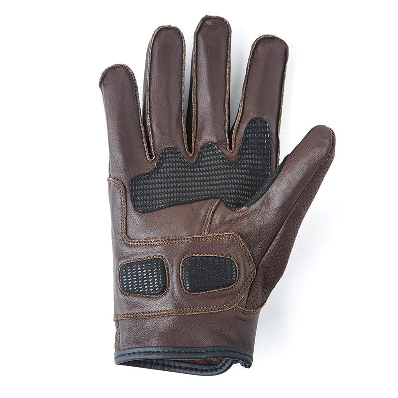 Summer Riding Gloves Brown