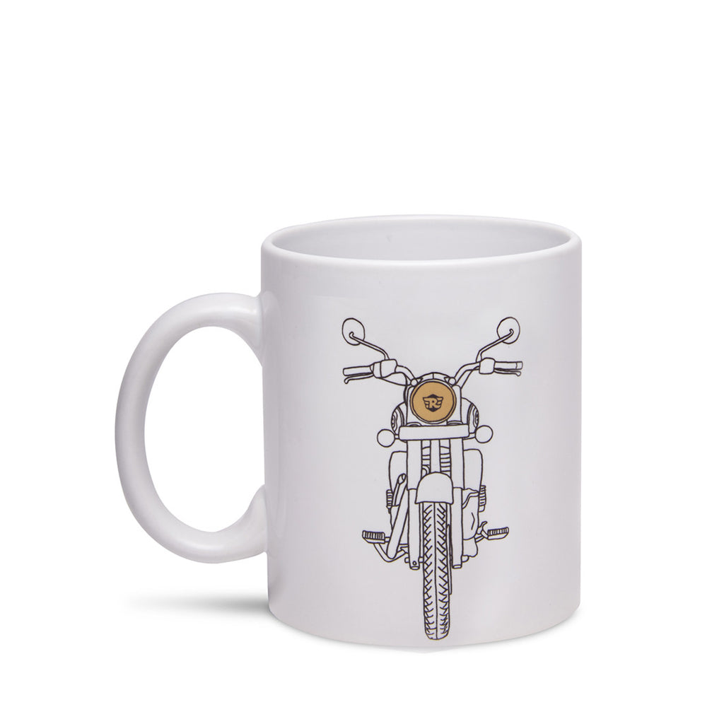 Classic Stance Coffee Mug White - Royal Enfield