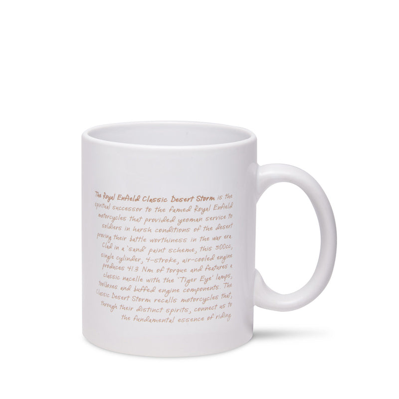 Desert Storm Mantra Coffee Mug White