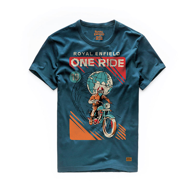 One Ride 2019 T-Shirt Deep Teal