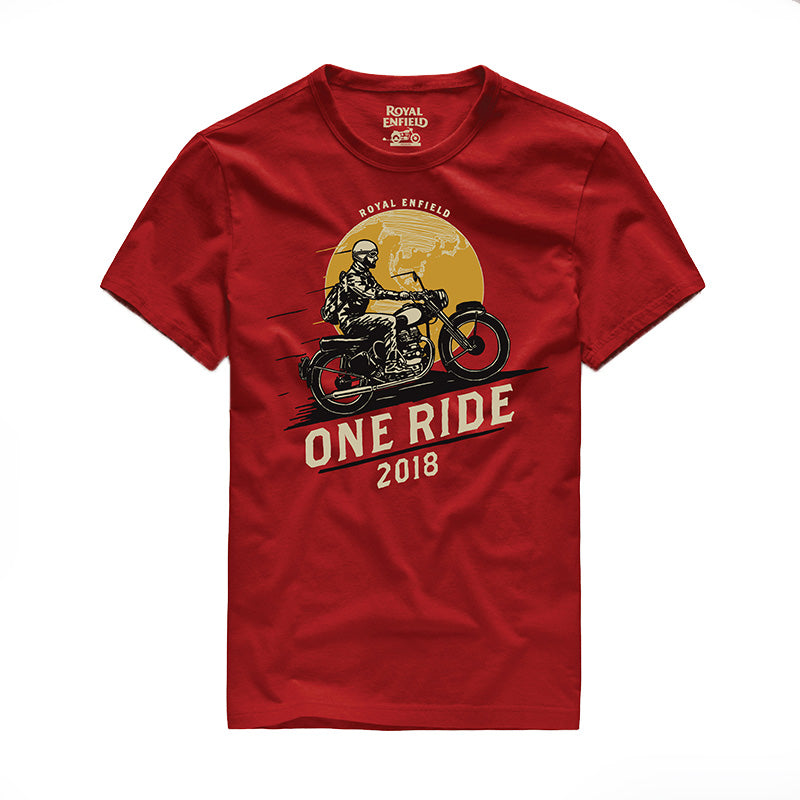 One Ride 2018 T-Shirt