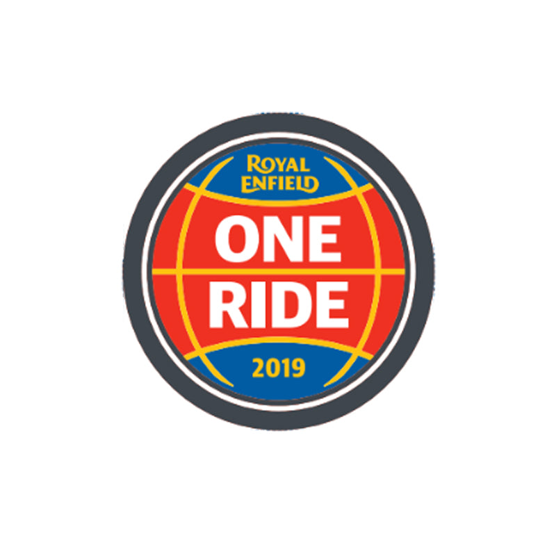 One Ride 2019 Pin