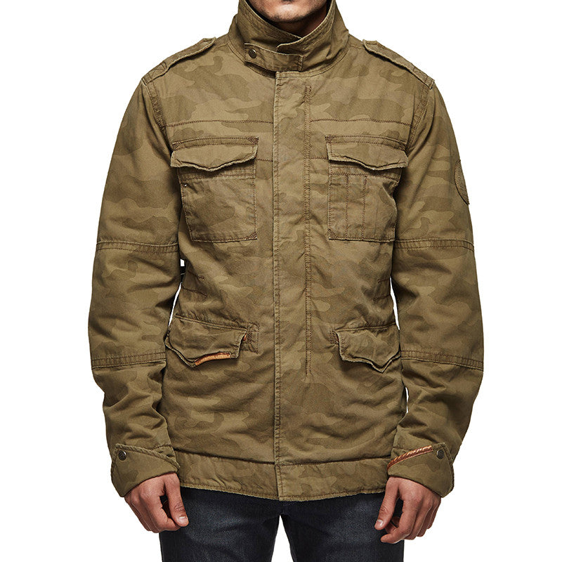 Classic Field Camo Jacket Poly Olive - Royal Enfield
