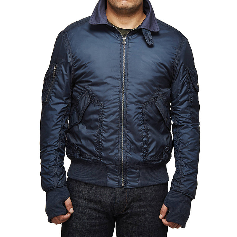 M-Wd/Airborne Aviator Jacket Flight Navy - Royal Enfield