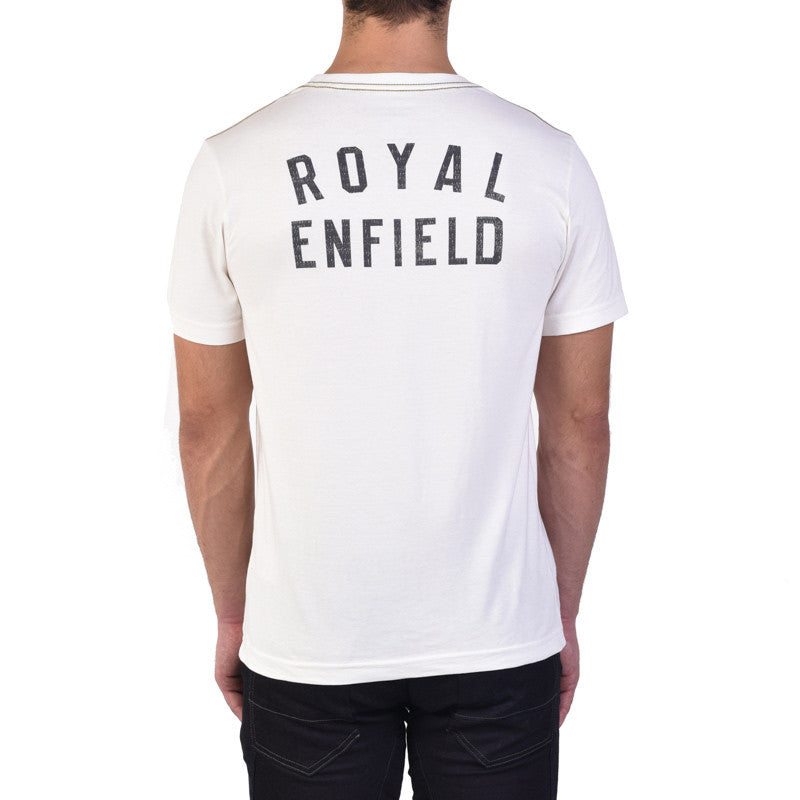 Bullet Poster Tee Off White - Royal Enfield