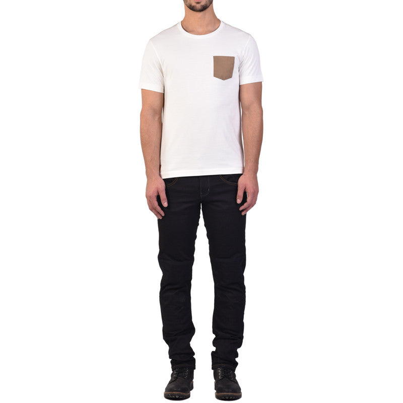 Essential Pocket T-Shirt Off White - Royal Enfield