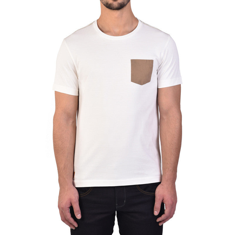 Essential Pocket T-Shirt Off White