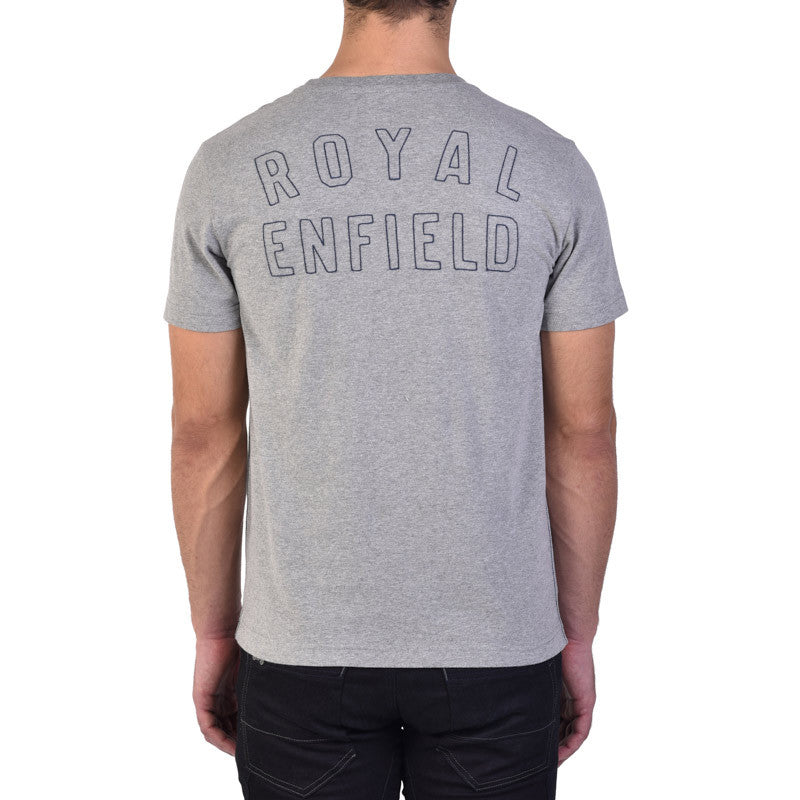 Logo Engine Graphic Tee Heather Grey