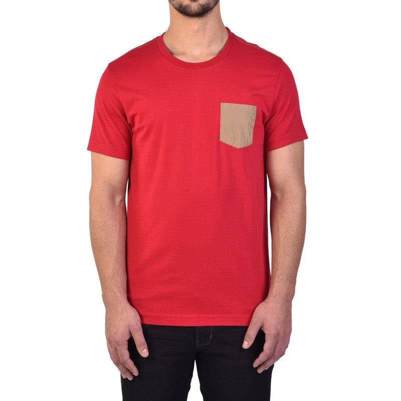 Essential Pocket T-Shirt Red - Royal Enfield