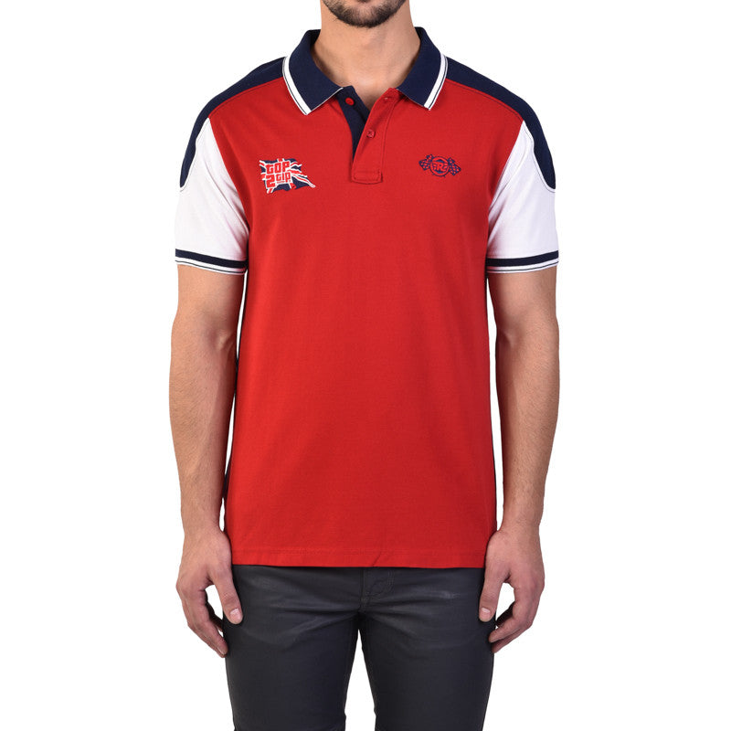 Top To Tip Polo Tee Red