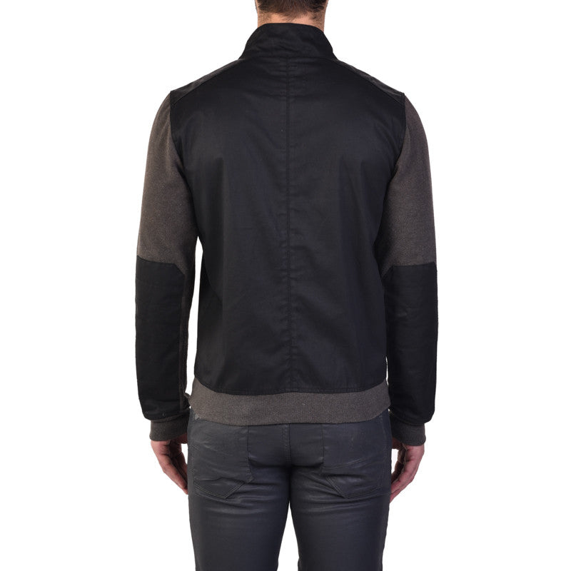 Bolton Sweat Jacket Black - Royal Enfield