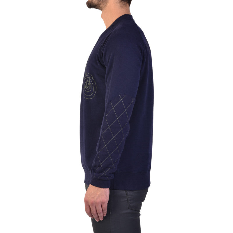 Bullet Sweatshirt Blue - Royal Enfield