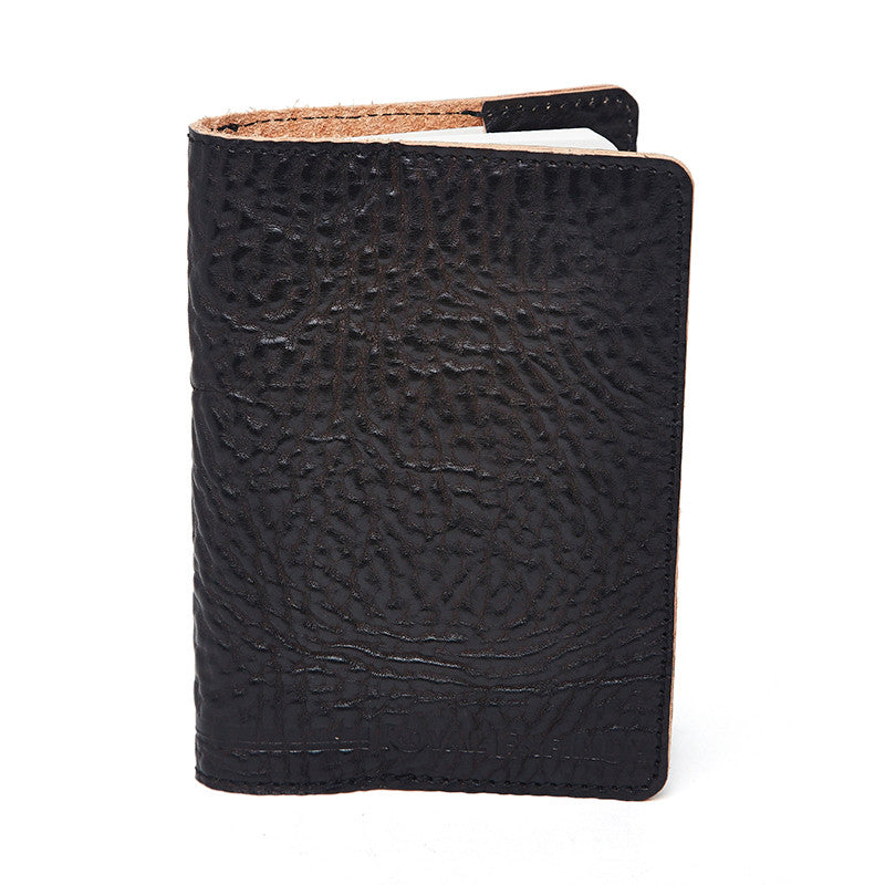 Leather Notebook Black - Royal Enfield