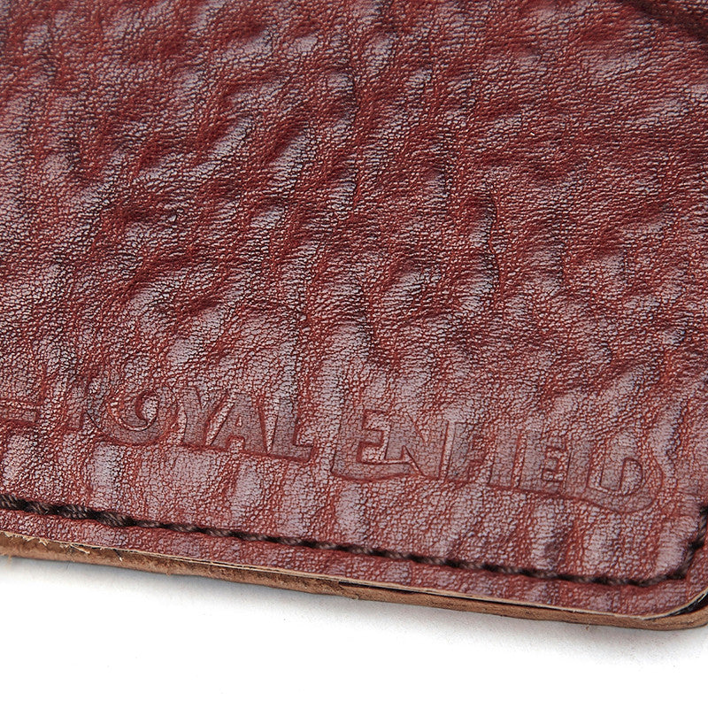 Leather Notebook Brown - Royal Enfield
