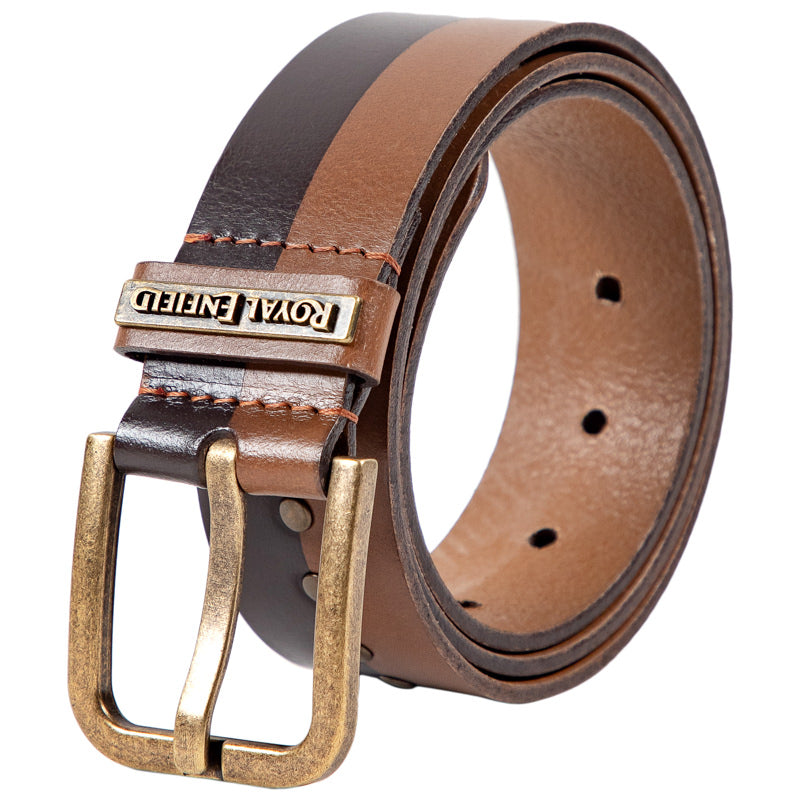 SPLIT LANE BELT - BROWN