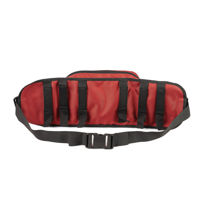 DELTA TACTICAL WAIST POUCH - RED